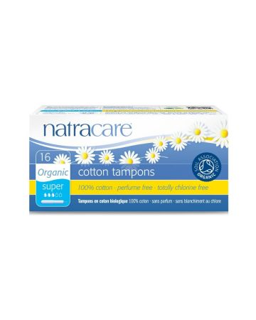 Natracare Super Tampons With Applicator 16s
