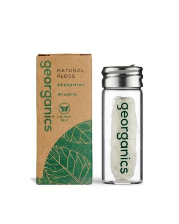 Georganics Natural Floss Spearmint