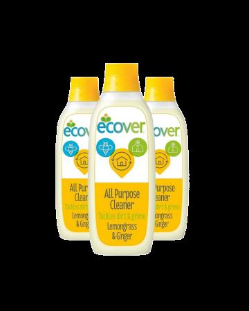 Ecover All Purpose Cleaner Lemongrass & Ginger 1ltr