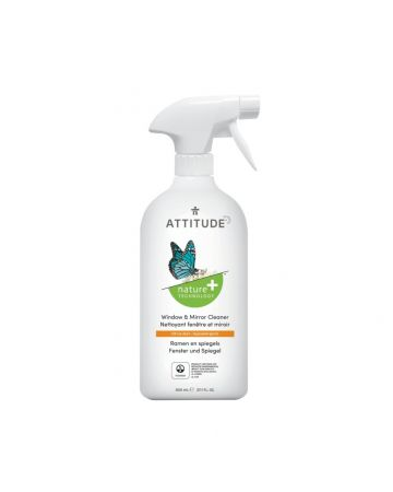 Attitude Window & Mirror Cleaner Citrus Zest 800ml