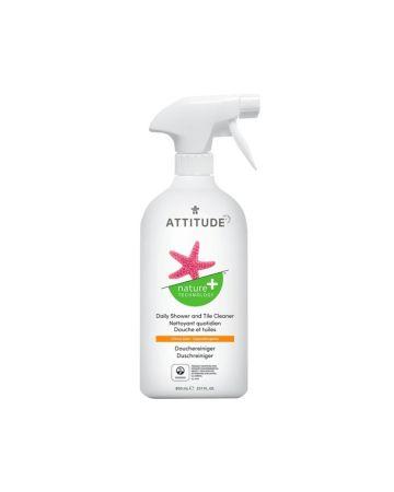 Attitude Daily Shower & Tile Cleaner Citrus Zest 800ml