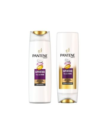 Pantene Pro-v Superfood Shampoo & Conditioner 500ml