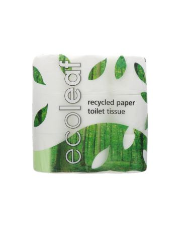 Ecoleaf Recycled Paper Toilet Tissue Rolls 9s