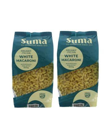 Suma Organic Italian White Macaroni 500g