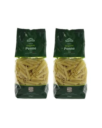 Suma Organic Italian Penne Pasta 500g