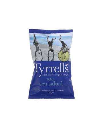 Tyrrells Lightly Sea Salted Crisps 150g