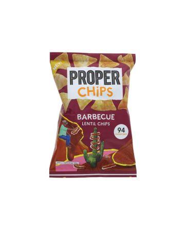 Properchips Barbecue Lentil Chips 20g