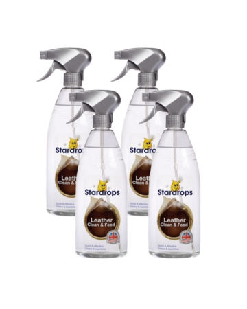 Stardrops Leather Clean & Feed 750ml