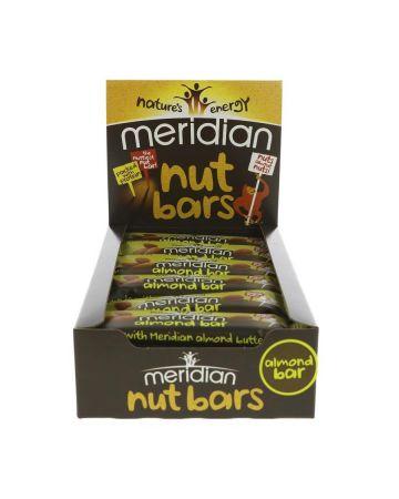 Meridian Almond Nut Bars (18 X 40g)