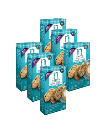Nairn's Dark Chocolate & Coconut Chunky Biscuit Breaks 160g