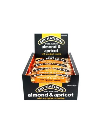Eat Natural Almond & Apricot Yoghurt Coated Fruit & Nut Bar 50g