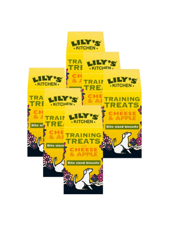 Lily's Kitchen Training Treats For Dogs Cheese & Apple 100g