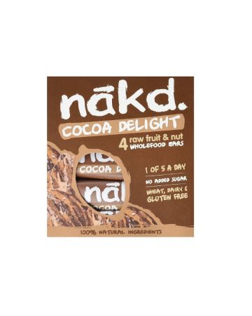 Nakd Cocoa Delight Bars Multipack (4 x 35g)