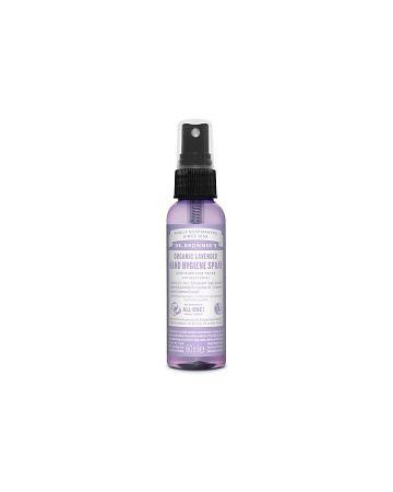 Dr Bronner's Organic Lavender Hand Hygiene Sanitizing Spray 60ml
