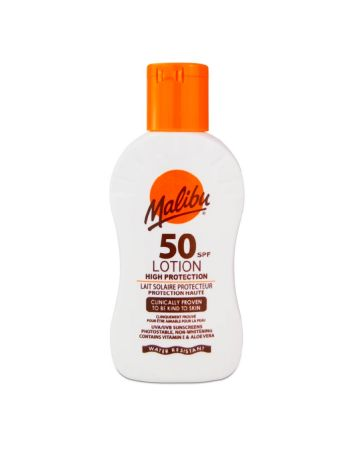 Malibu SPF50 Sun Lotion 100ml