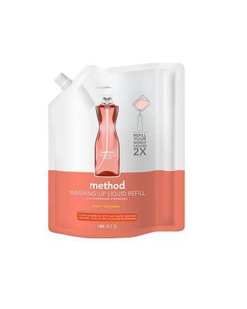Method Washing Up Liquid Peach Refill 1.064ltr