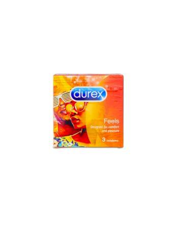 Durex Feels Condoms 3s