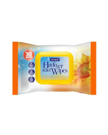 Nuage Hayfever Wipes 30s