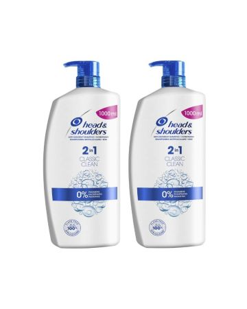 Head & Shoulders 2 In 1 Classic Clean 1ltr