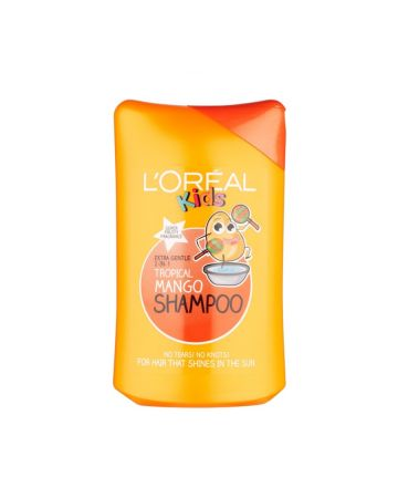 L'Oreal Kids Extra Gentle 2in1 Tropical Mango Shampoo 250ml