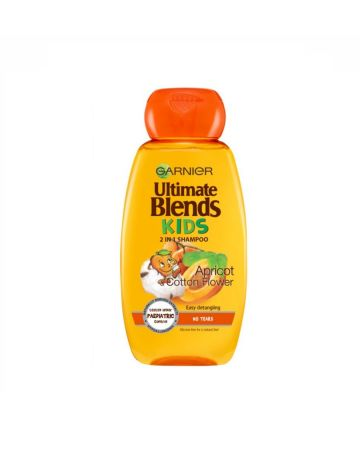 Garnier Ultimate Blends Kids 2in1 Shampoo Apricot & Cotton Flower 250ml