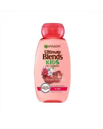 Garnier Ultimate Blends Kids 2in1 Shampoo Cherry & Sweet Almond 250ml