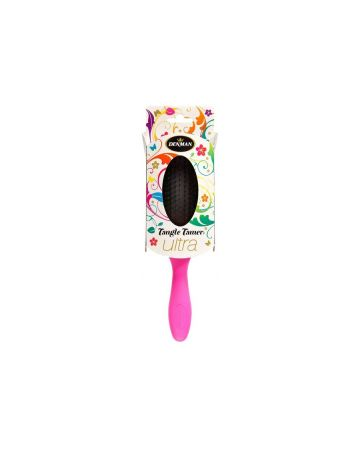 Denman Tangle Tamer Hairbrush Ultra Pink