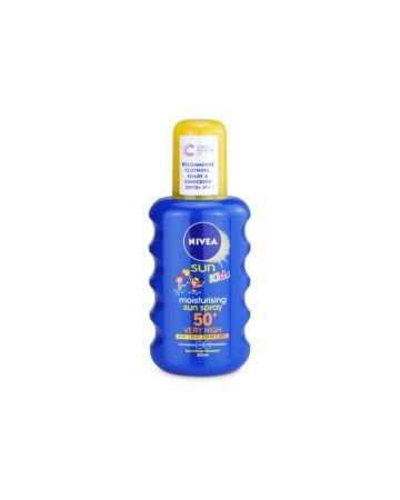 Nivea Kids Moisturising Sun Spray SPF 50+ 200ml