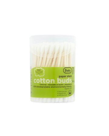Pretty Cotton Buds Paper Stem 100s