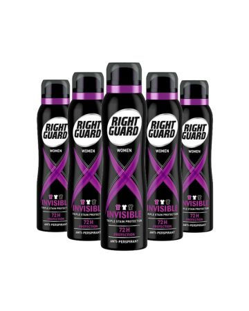 Right Guard Women Anti Perspirant Deodorant Xtreme Invisible 150ml