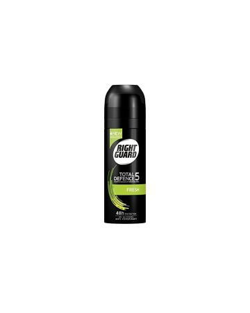 Right Guard Anti-Perspirant Deodorant Total Defence 5 Fresh 150ml