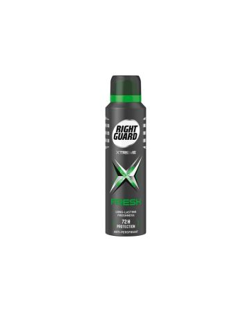 Right Guard Anti-Perspirant Deodorant Xtreme Fresh 72H Protection 150ml