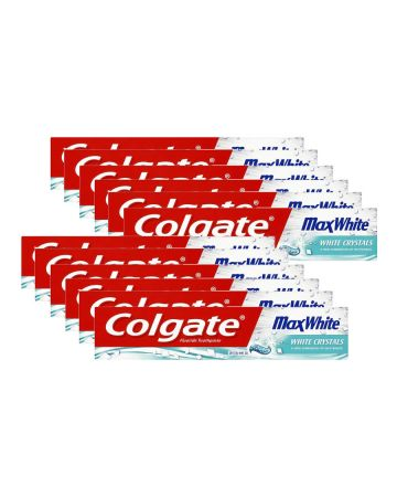 Colgate Max White Toothpaste Crystal Mint Gel 50ml