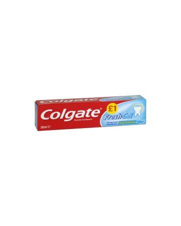 Colgate Toothpaste Fresh Minty Gel 100ml (PM £1.00)