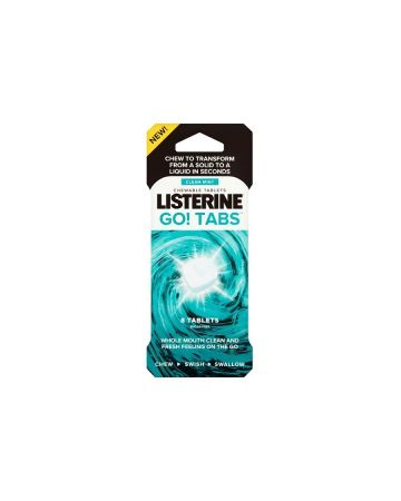 Listerine Go! Tabs 8s