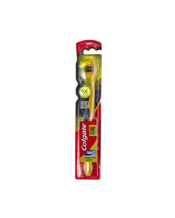 Colgate Charcoal Gold 360 Degree Soft Toothbrush