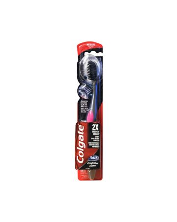 Colgate Charcoal 360 Degree Medium Toothbrush