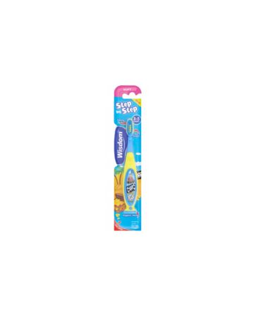 Wisdom Step-by-Step Kids Toothbrush 3-5 Years