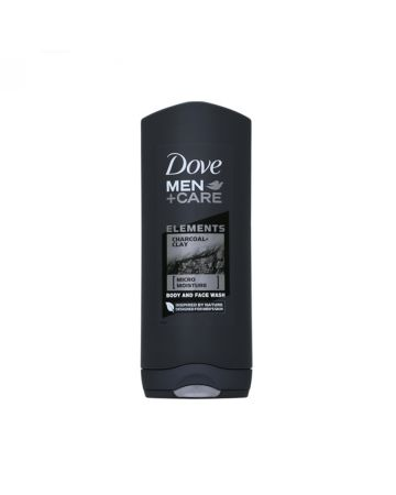 Dove Men+Care Elements Body & Face Wash Charcoal Clay 250ml