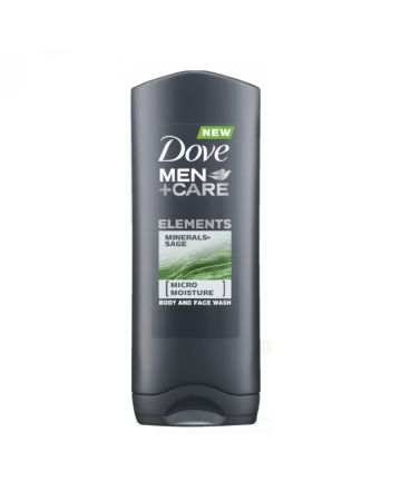 Dove Men+Care Elements Body & Face Wash Minerals & Sage 250ml