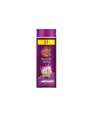 Imperial Leather Relaxing Bath Cream 500ml (PMP £1.00)