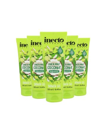 Inecto Naturals Lime & Mint Coconut Infusion Shower Gel 250ml