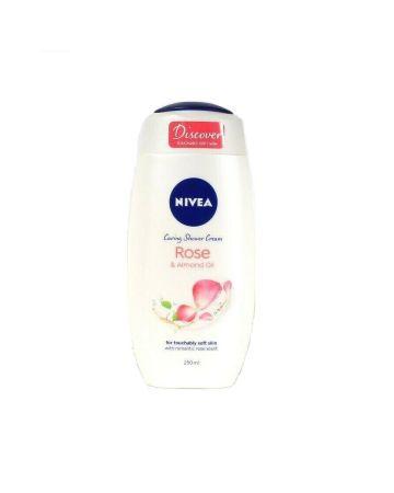 Nivea Shower Cream Rose & Almond Oil 250ml