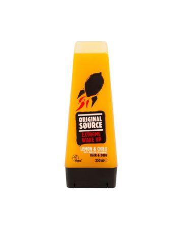 Original Source Extreme Wake Up Lemon & Chilli Hair and Body Wash 250ml