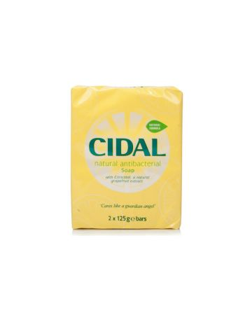 Cidal Antibacterial Soap Twin Pack (2 x 125g)