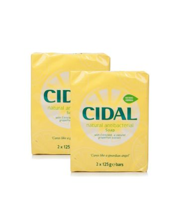 Cidal Antibacterialsoap Twin Pack (2 X 125g)