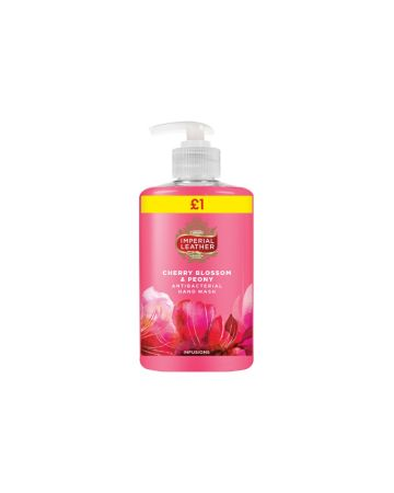 Imperial Leather Hand Wash Cherry Blossom & Peony 300ml (PM £1.00)