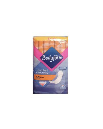 Bodyform Maxi Regular Flow 14s (PM £1.49)