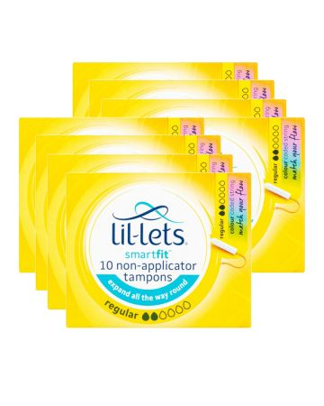 Lil-lets Tampons Regular 10s