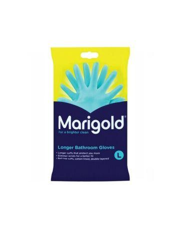 Marigold Longer Bathroom Gloves Large